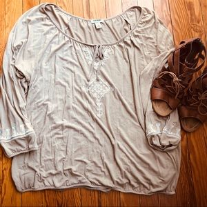 Old Navy boho top